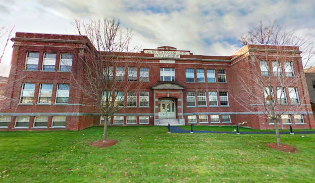 St. Mary's High School, Waltham, MA, photo taken 2011.